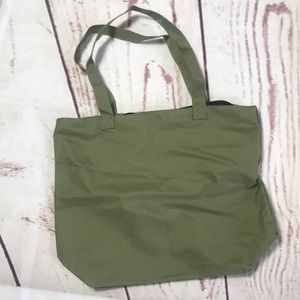Olive green tote  free will bundles over $25